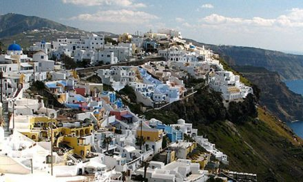 Santorini: sustainable architecture and art of the human genius