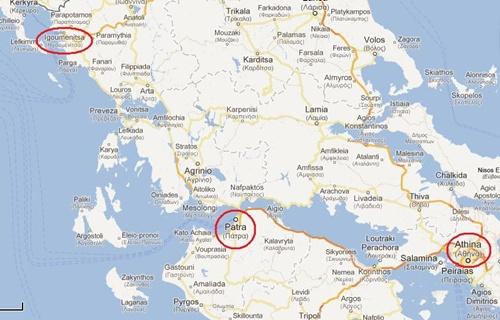 Aeroporto Atene : Bus atene aeroporto patrasso
