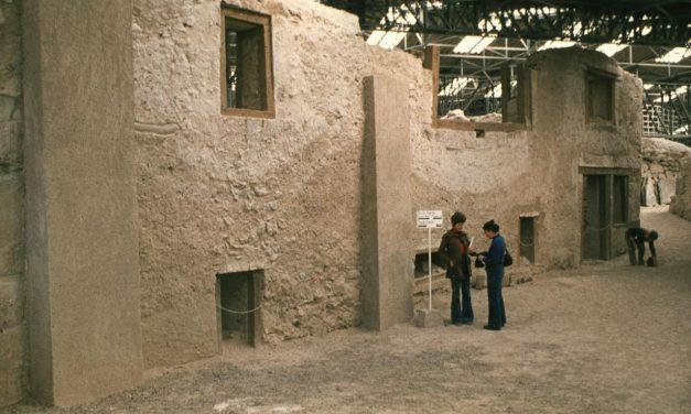 Riapertura del sito archeologico di Aktrotiri