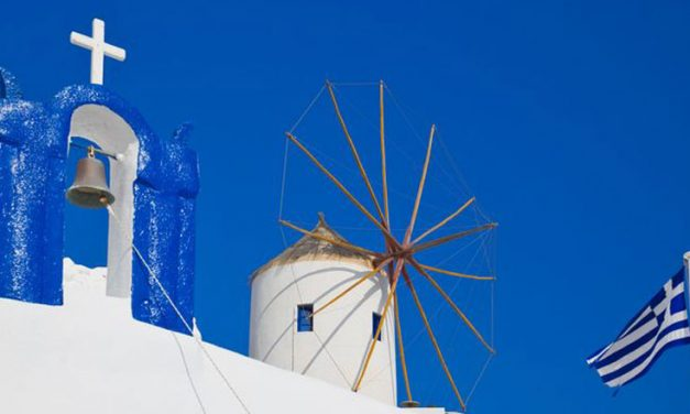 Feast and festivals on Santorini island