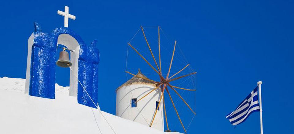 Feast and festivals on Santorini island