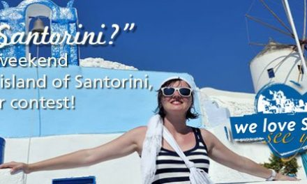 Win a weekend on the island of Santorini, join our contest!