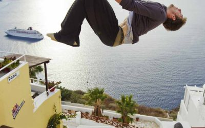 "Torna a Santorini ""Red Bull: Art of Motion"""
