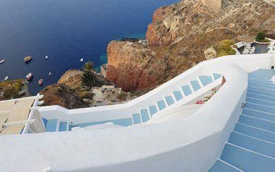 Beautiful island of Santorini