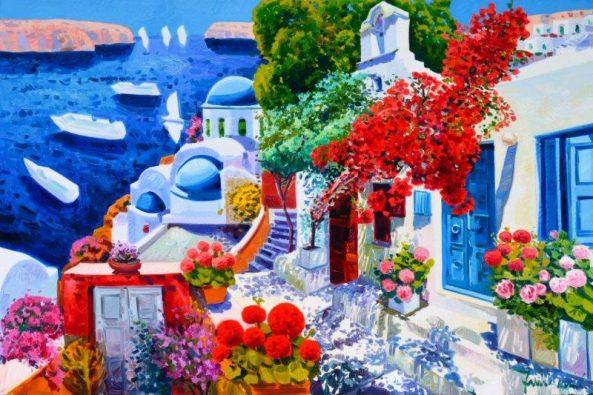 la porta azzurra e un racconto di primavera faccincani